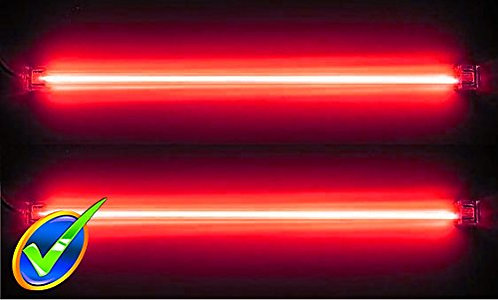 "Logisys Dual 12"" Cold Cathode Kit (RED)"
