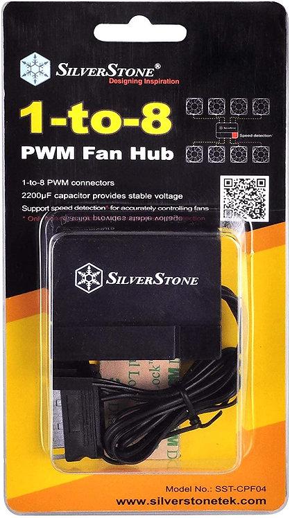 8-Port PWM Fan Hub for 4-Pin & 3-Pin Fans