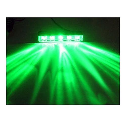 Logisys 5 LED Lazer Light (GREEN)