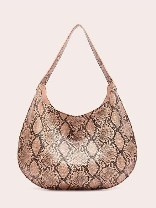 Чанта- Snake print