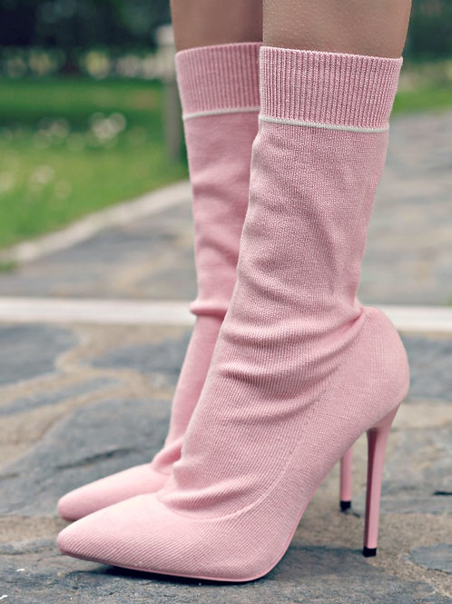 Обувки- Pink Socks
