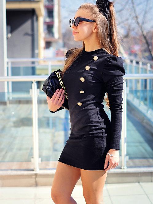 Рокля - Black style