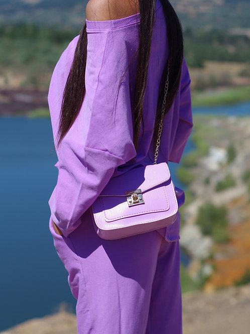 Чанта- Lilac style