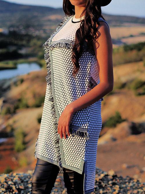 Рокля - Black & White dress