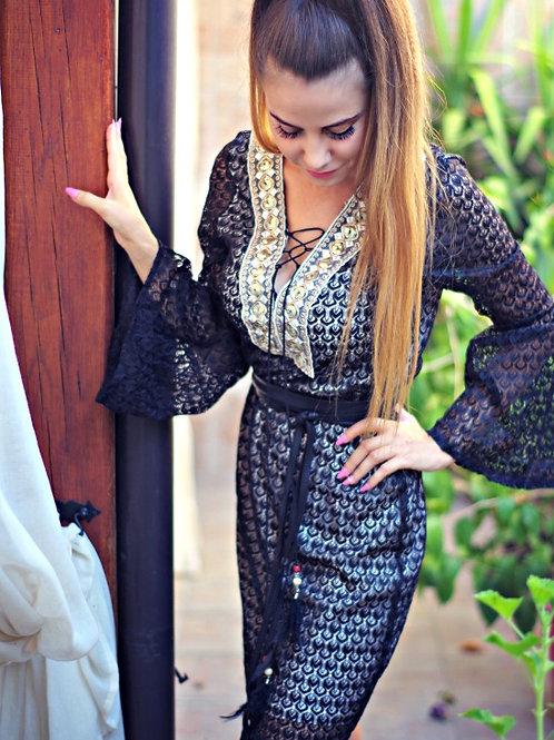 Рокля - Black Mesh Dress