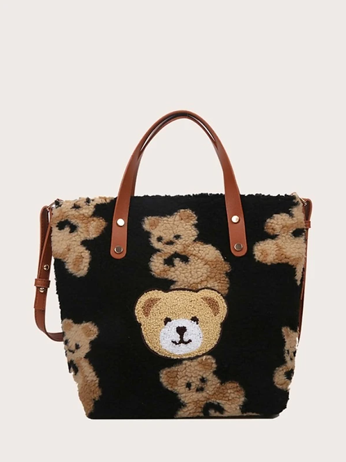 Чанта- Bear pattern bag