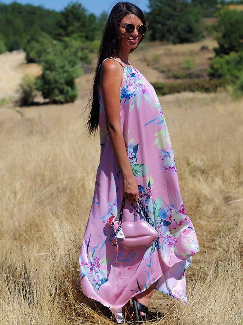 Рокля- Pink wind