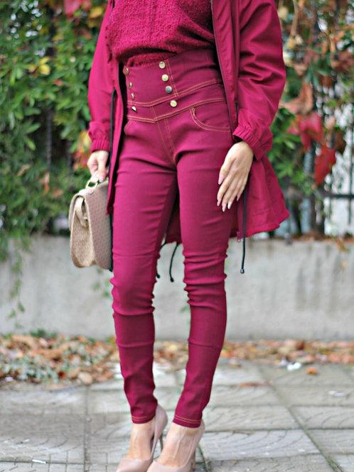 *Панталон - Burgundy pants