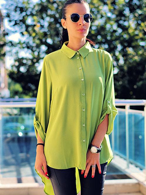 Риза - Stylish green