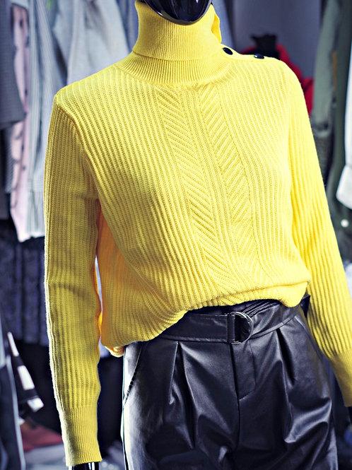Пуловер- Yellow spirit