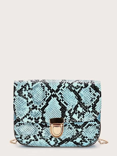 Чанта- Blue snake