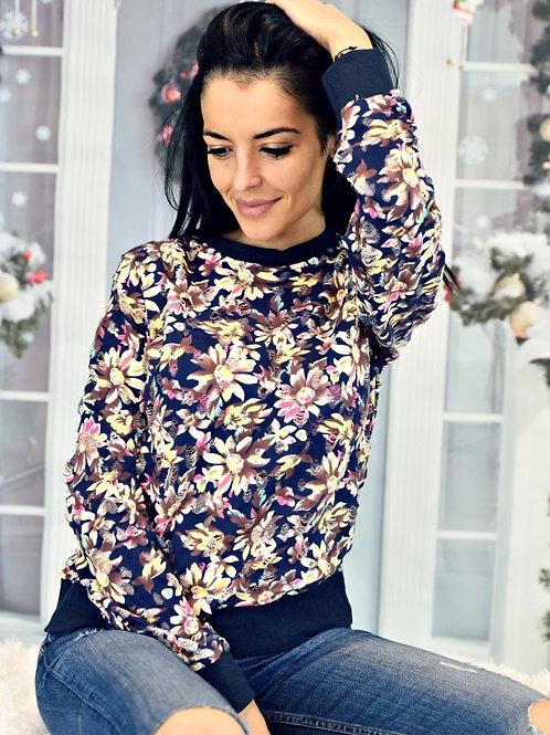 *Пуловер-Endless flowers