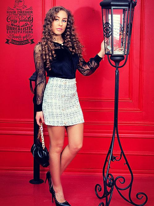 Пола- Tweed Skirt