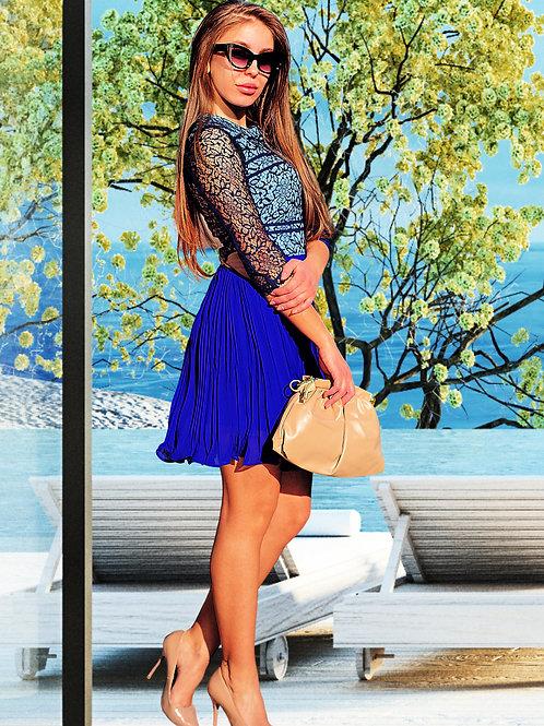Рокля - Blue lace 2