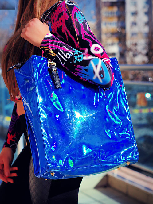 Чанта- Blue fusion