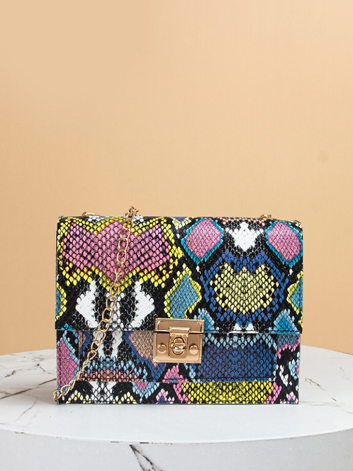 Чанта- Trendy snake