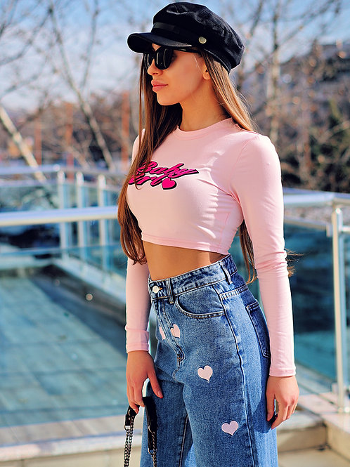 Топ- Pink babe