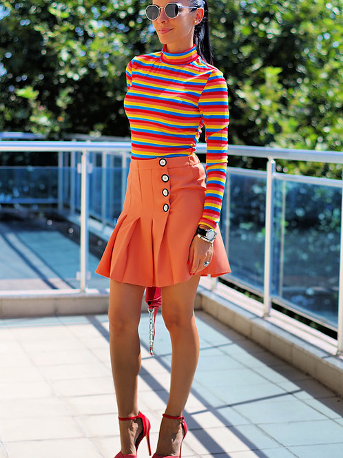 Пола- Pleated skirt