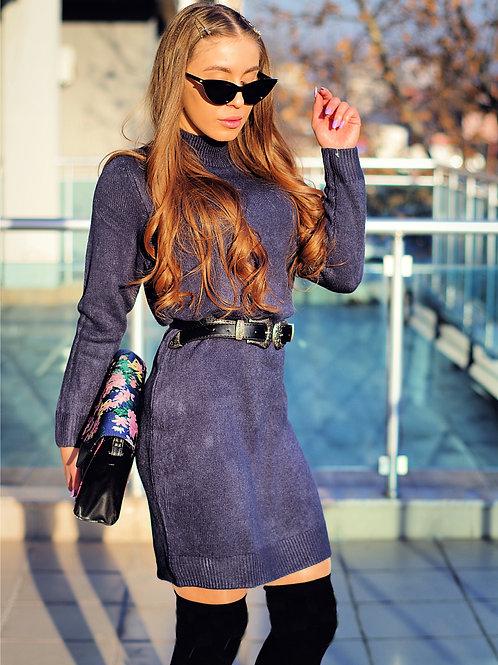 Рокля - Style in navy blue