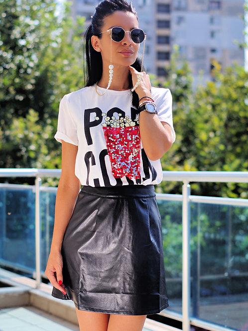 Тениска- Pop corn