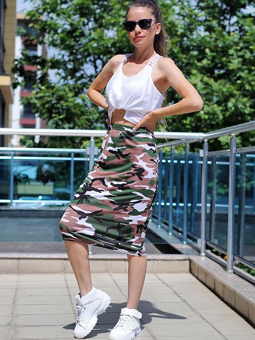 *Пола - Military skirt