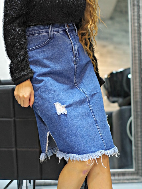 Пола- Denim skirt