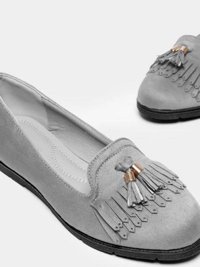 Обувки- Grey autumn
