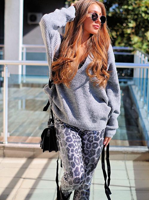 *Пуловер - Grey autumn