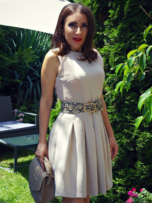 Рокля- Beige summer dress