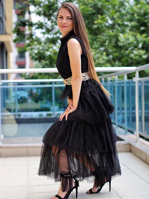 Рокля - Black summer