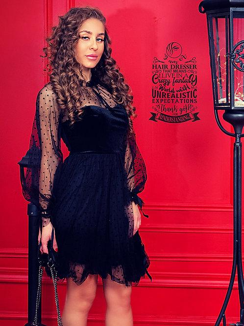Рокля - Lady in black