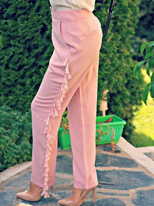 Панталон - Pink fringe