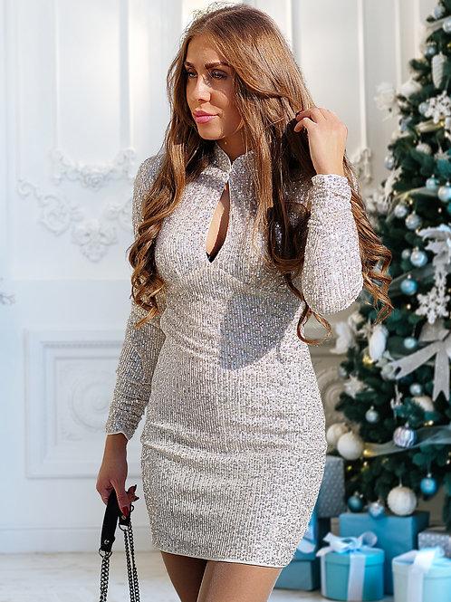 Рокля - Shiny dress