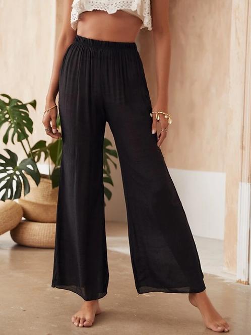 Плажен панталон- Black