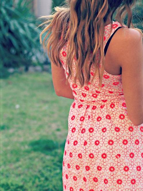 Рокля- Summer flowers