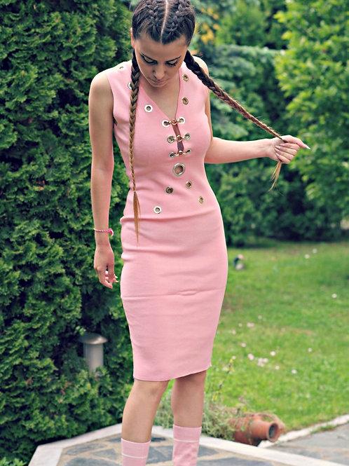 Рокля - Pink summer