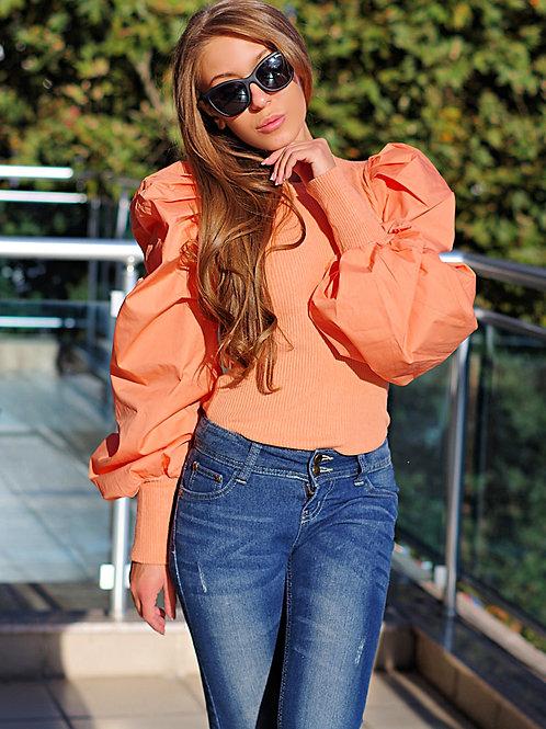 Блуза - Puff sleeve top