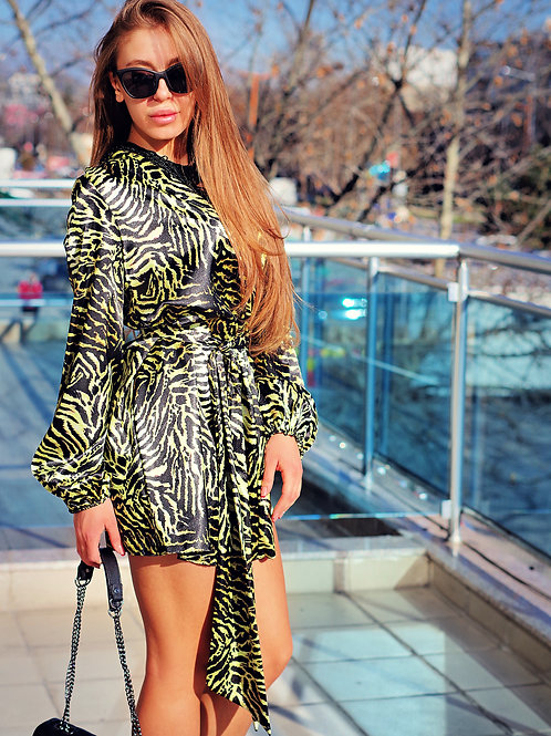 Рокля - Jungle dress