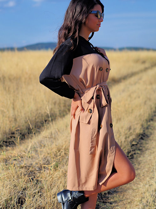 Рокля - Brown autumn