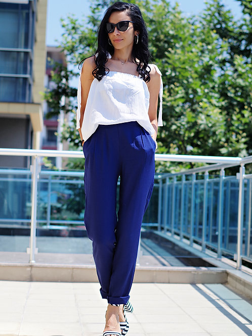 Панталон- Elegant blue