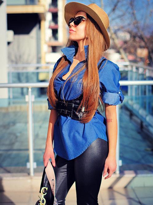 Риза- Blue style