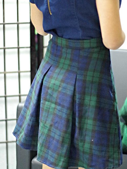 *Пола- Blue & Green skirt