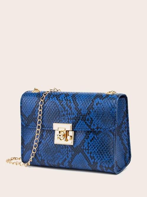 Чанта- Blue skin