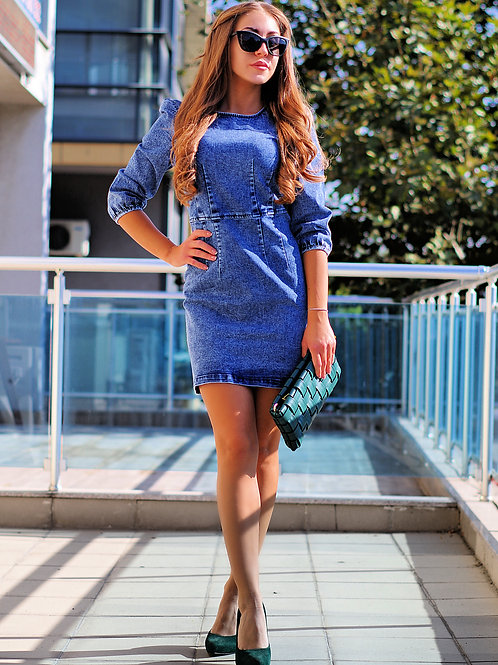 *Рокля - Denim dream dress