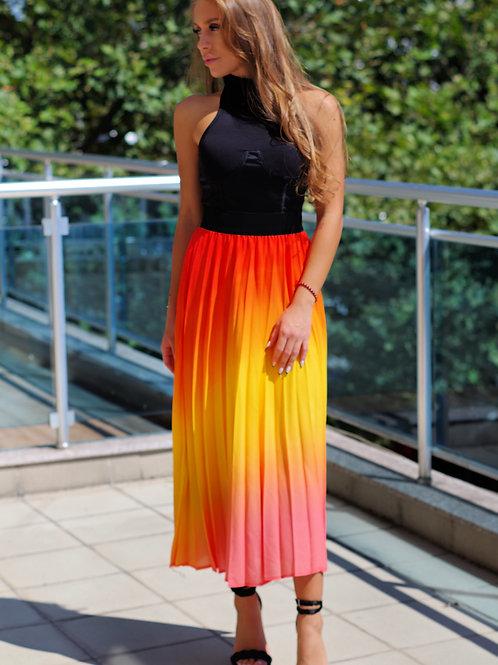 Пола- Colorful pleats