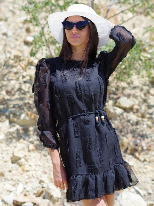 Рокля- Summer in black