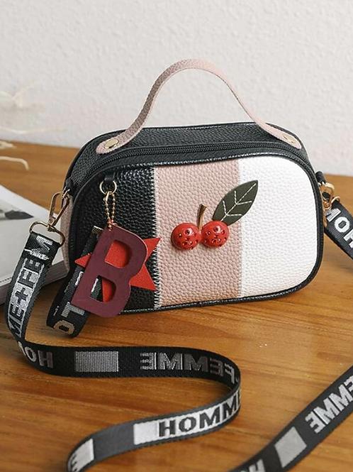 Чанта- Red cherry