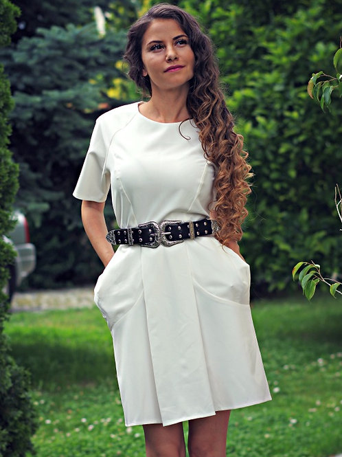 Рокля - White summer