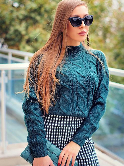 Пуловер - Green style