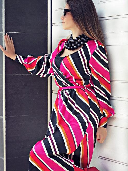 *Рокля - Striped dress